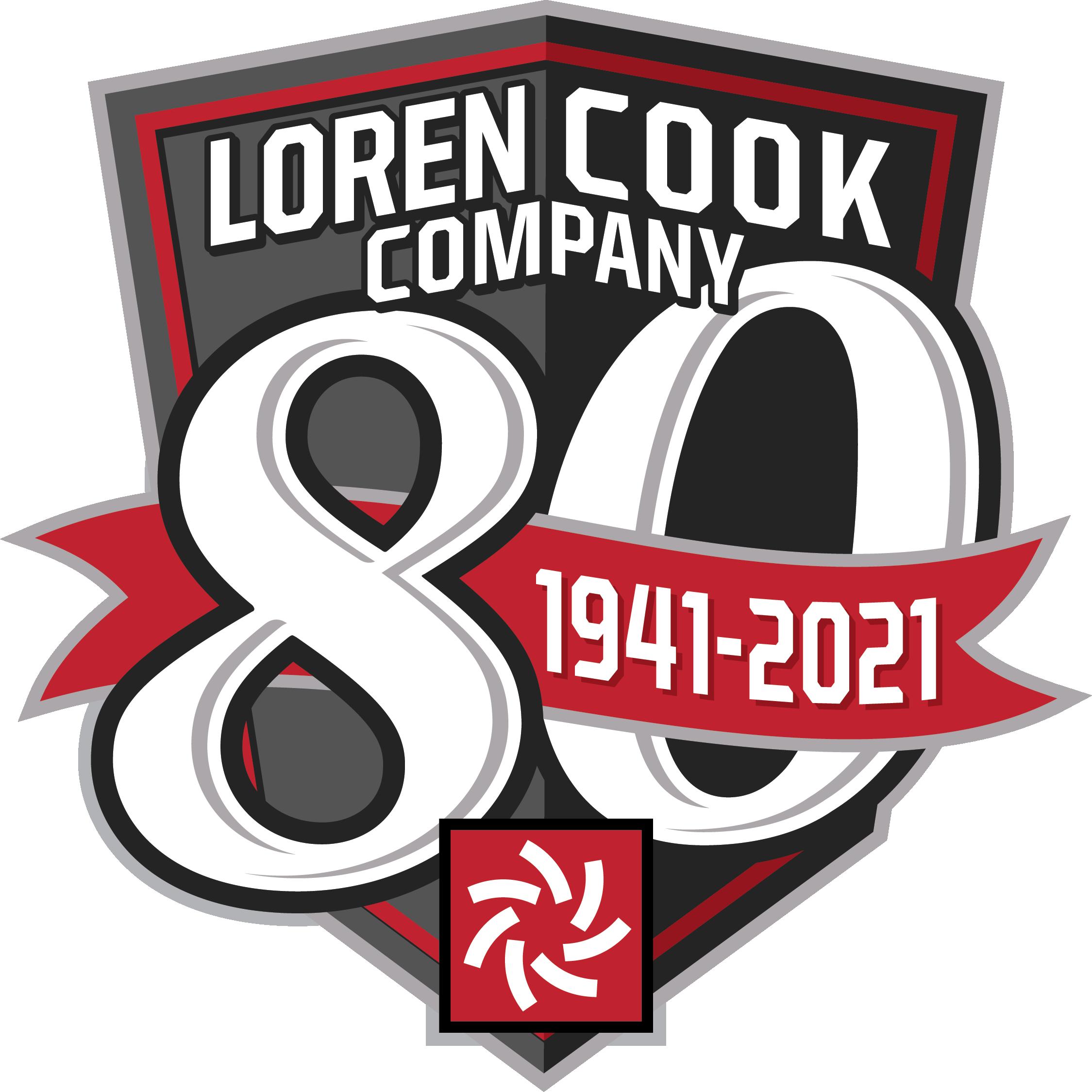 Cook 80th Anniversary Logo